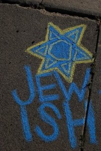 Jewish sand painting - Aberration Art